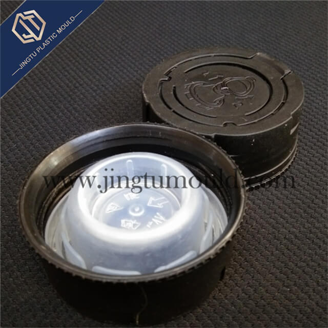 Environmentally friendly plastic beverage bottle cap